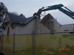 Demolition morning 19