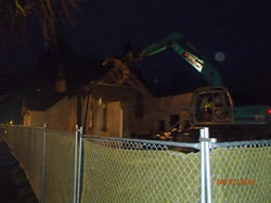 Demolition early morning 5