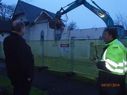 Demolition morning 2