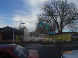 Demolition morning 23