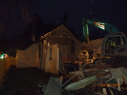 Demolition early morning 7