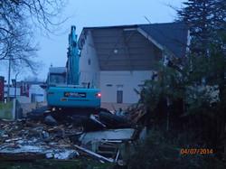 Demolition morning 5
