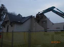 Demolition morning 18