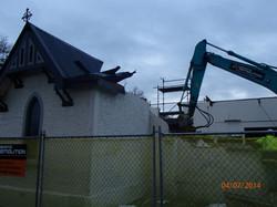 Demolition morning 21