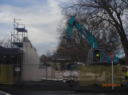 Demolition morning 24