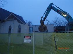 Demolition morning