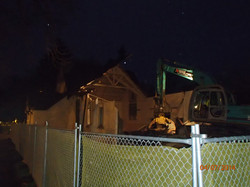 Demolition early morning 6