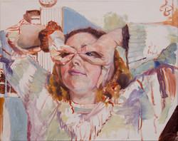 "Phoebe •16"" x 20"" Oil on Canvas"