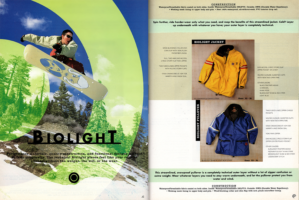 Burton Industry Catalog Biolight Full Fl
