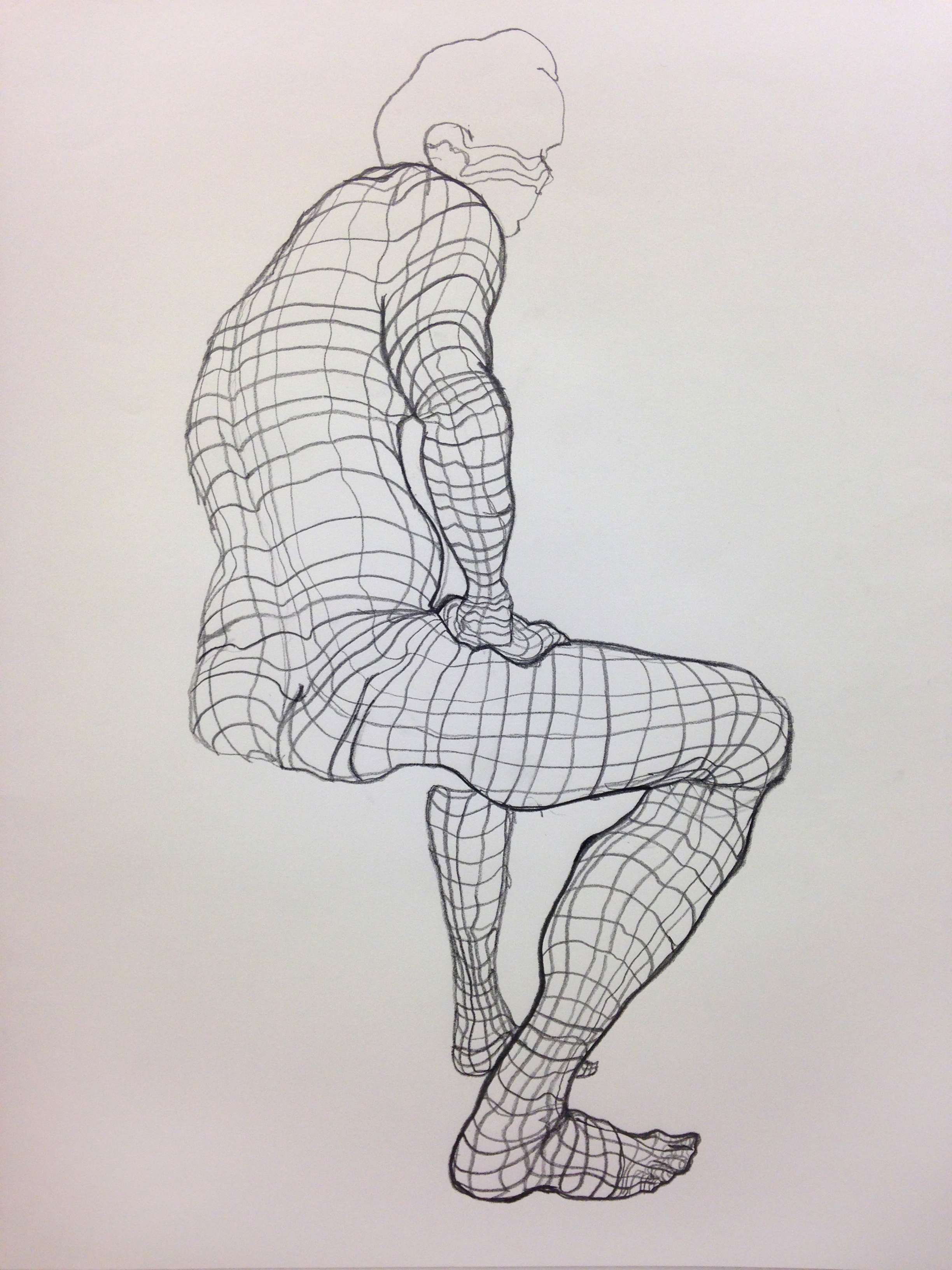 Student Figure Study 7