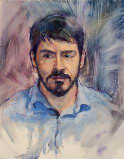 "Jason Lamb • 20"" x 16"" Oil on Canvas"