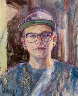 "Colton • 20"" x 16"" Oil on Canvas"