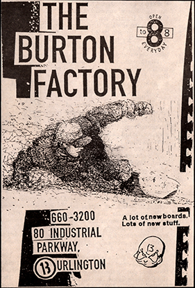 Burton Factory Add B&W 3 Sm