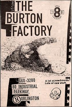 Burton Factory Add B&W 3 Sm