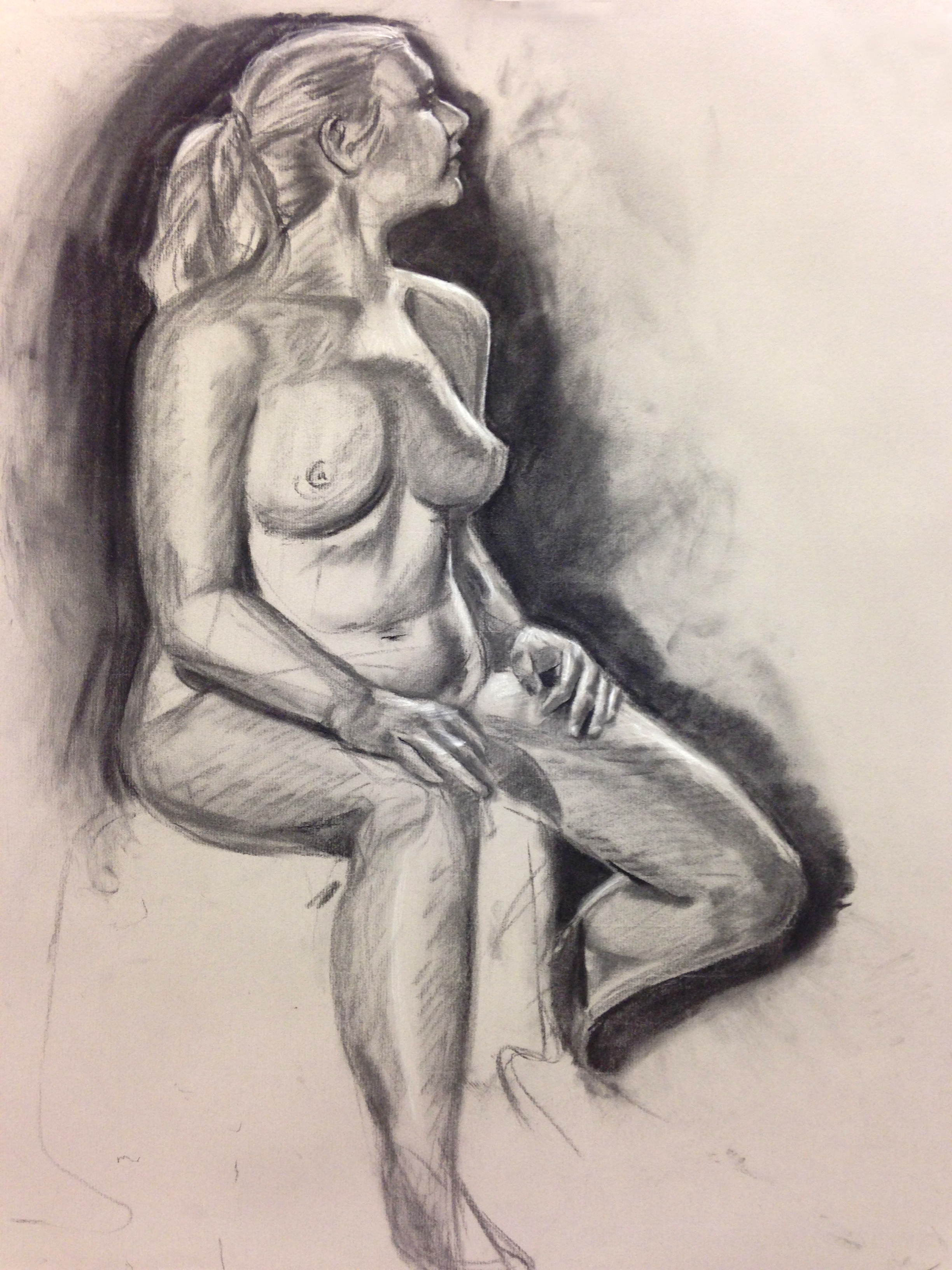 Student Figure Study 5