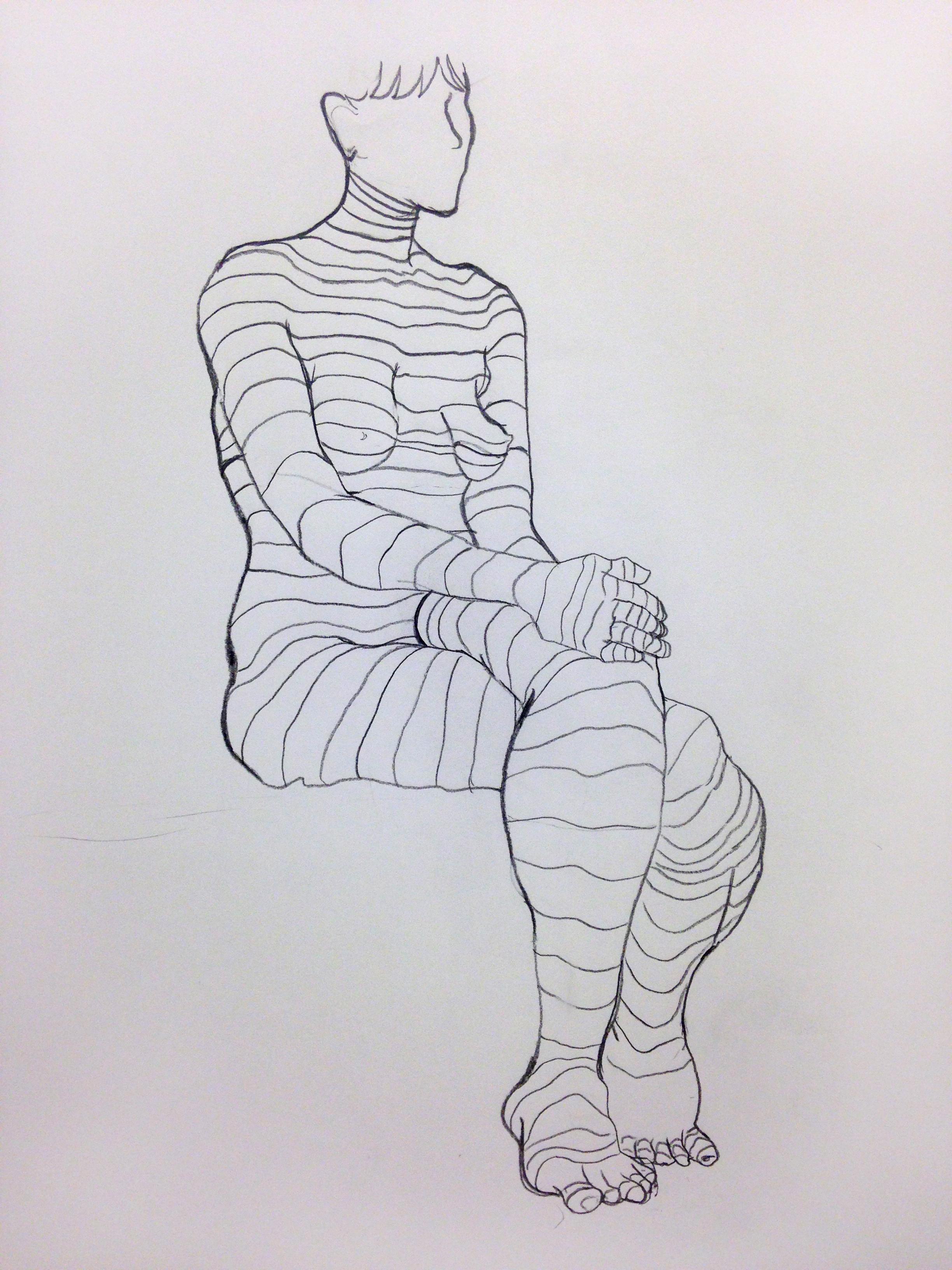 Student Figure Study 8