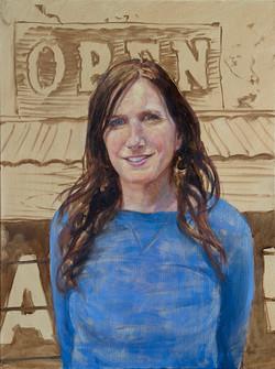 "Jodi •24"" x 18"" Oil on Canvas"