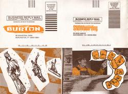 Burton Woods Catalog Mailer Cards Comp F