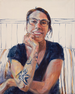 "Madi • 20"" x 16"" Oil on Canvas"