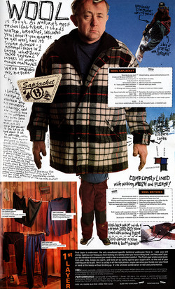 Burton Woods Catalog Wool Full Flat Sm