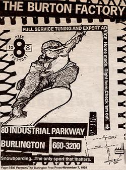 Burton Factory Add B&W 1 Sm