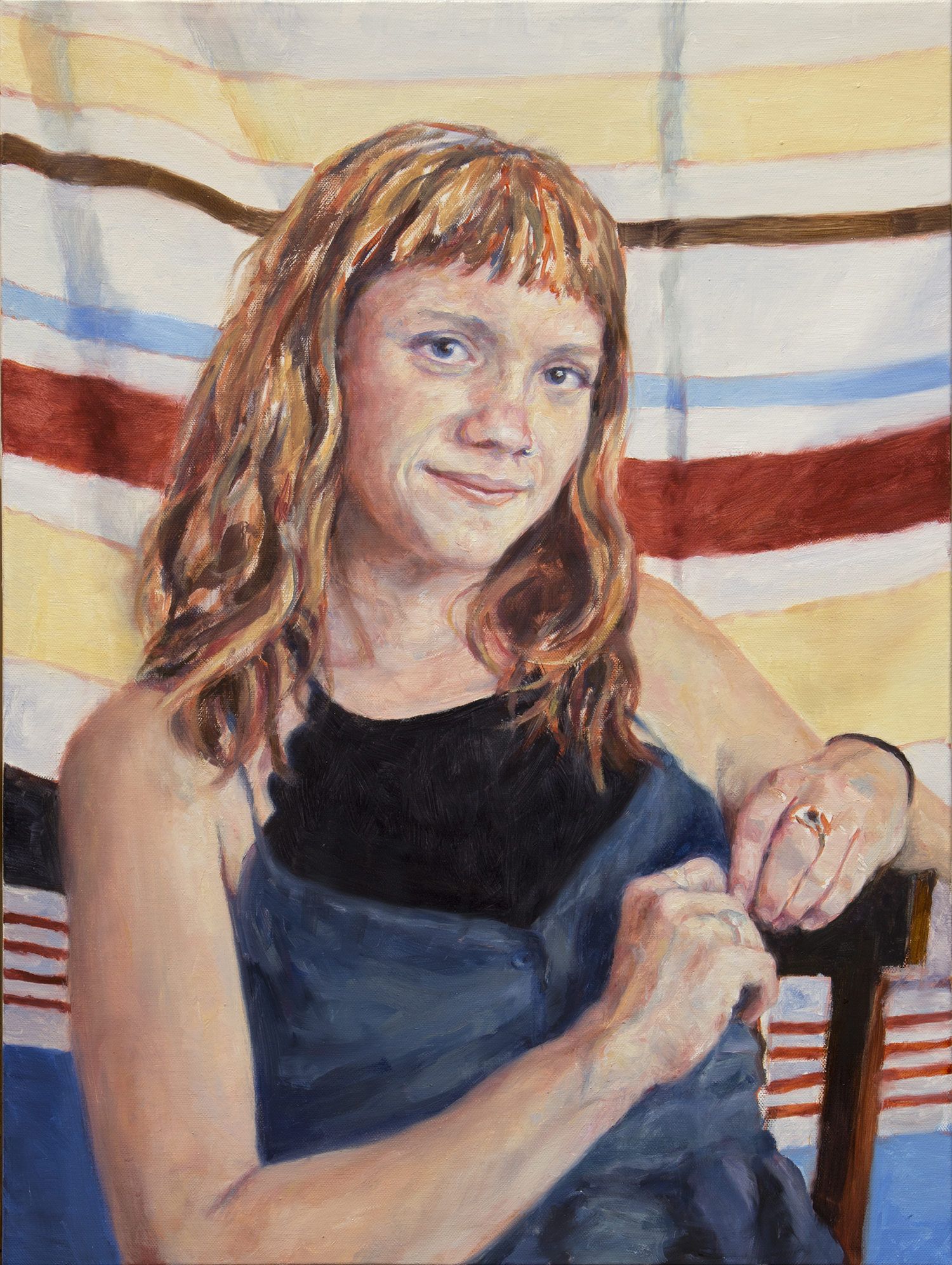 "Erin • 24"" x 18"" Oil on Canvas"