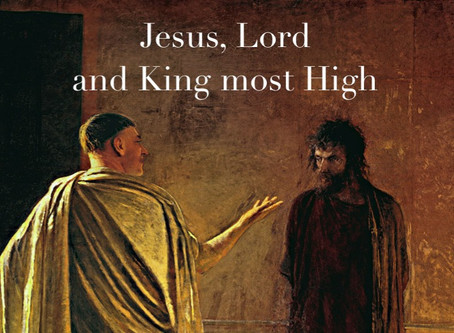 Jesus, Lord and King Most High -  Barrie Robinson