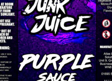 Junk Juice Purple Sauce