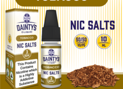 Dainty's Salts Tobacco