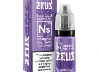Zeus Juice Salt Black Reloaded