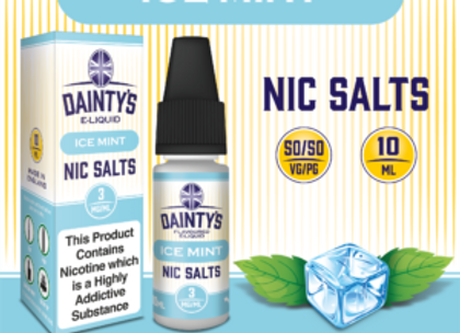 Dainty's Salts Ice Mint
