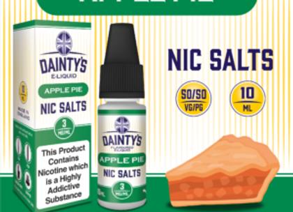 Dainty's Salts Apple Pie