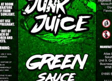 Junk Juice Green Sauce
