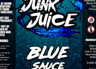 Junk Juice Blue Sauce