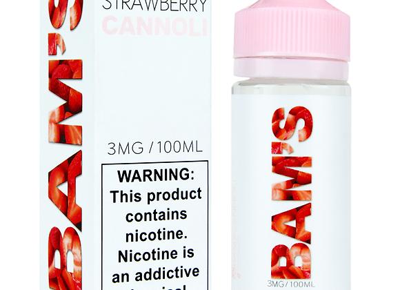 Bams Strawberry Cannoli