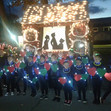 dance team lights on parade 2018