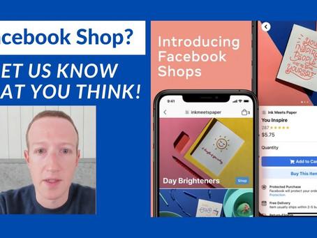 Facebook Shops正式上线,卖家可免费入驻