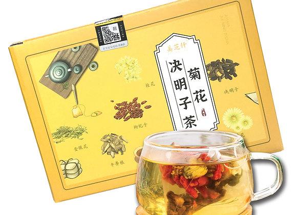 菊花决明子茶