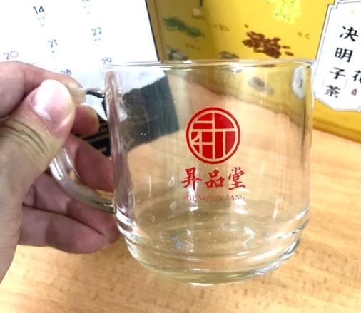 昇品堂精美玻璃茶杯