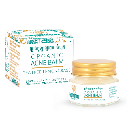 ACNE BALM | TEA TREE & LEMONGRASS
