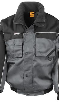 WORK-GUARD Zip Sleeve Heavy DutyJacket
