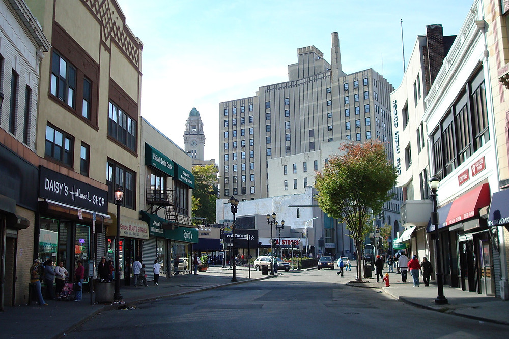 "Getty Square - the name of ""Downtown Yonkers"""