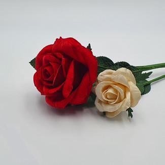 Susie Rose (10cm Red, 7cm White)