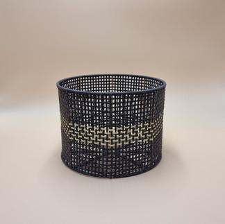 Stripe Round Basket