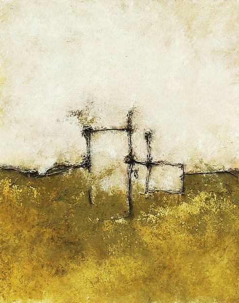 javier egiluz arte navarra abstracción lírica matérica eguiluz informalismo