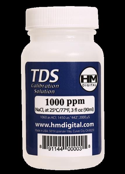 C-1000 TDS and EC Calibration Solutions