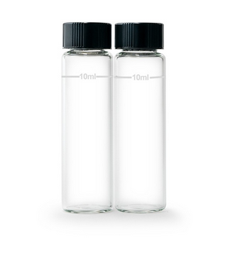 Glass Cuvettes and Caps (Set of 2)