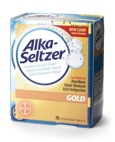 Alka-Seltzer Tablets (Pack of 36)