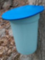 2 Gallon Plastic Sap Tub  Maple Sap Storage