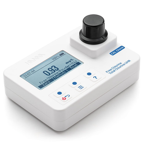 Free & UHR Total Chlorine Portable Photometer